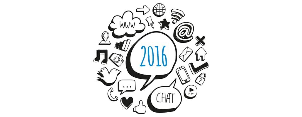 Der große Social Media Jahresrückblick 2016
